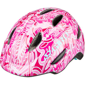 Giro Scamp MIPS Casque Enfant, pink flower land